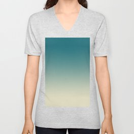Ombré Clear Day Unisex V-Neck