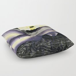 Relaxed Violet (nude 5) Floor Pillow