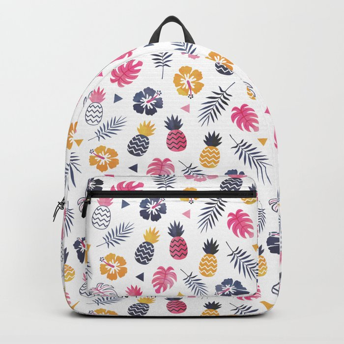 FOREVER SUMMER on WHITE Backpack