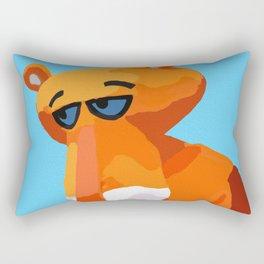 Happy Panther Rectangular Pillow
