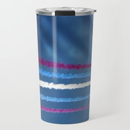 Streaks of shadow Travel Mug