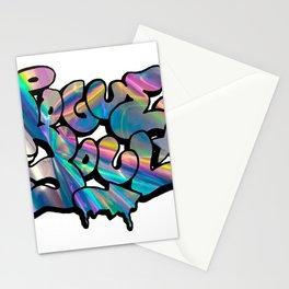"""""""Rogue Soul"""" Hologram Design Stationery Cards"""