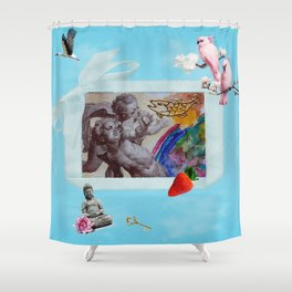 My private heaven Shower Curtain