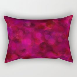 Purple Grape, Dragon Fruit, & Berry Dots Rectangular Pillow