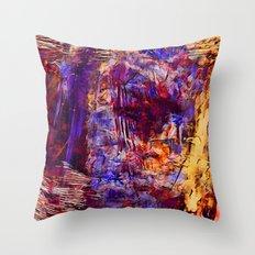 Vortex eye Throw Pillow
