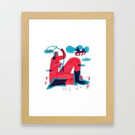 Runaway Pegasus Framed Art Print