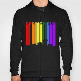 Springfield Missouri Gay Pride Rainbow Skyline Hoody