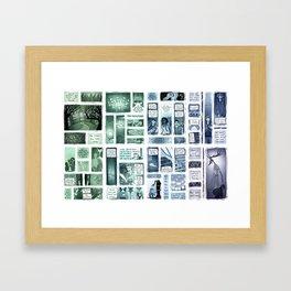 Elsewhere University (Horizontal) Framed Art Print