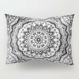 BLACK JEWEL MANDALA Pillow Sham
