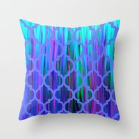 morocco Throw Pillows featuring Morocco by Saundra Myles
