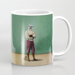 Milton Meerkat: Fencing Master Coffee Mug