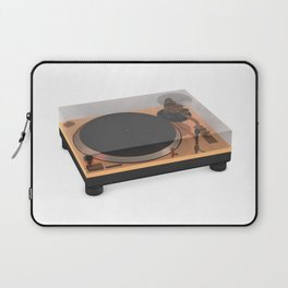 Golden Turntable Laptop Sleeve
