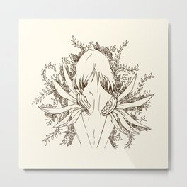 She, The ultimate Weapon Metal Print