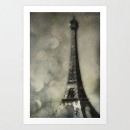 To Paris, With Love Art Print