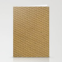 fabric Stationery Cards featuring Fabric by Kris alan apparel