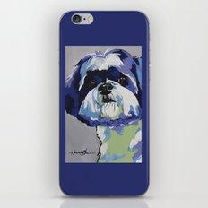 Shih Tzu Pop Art Pet Portrait iPhone & iPod Skin