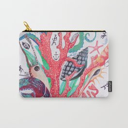 Ocean Arrangements Carry-All Pouch