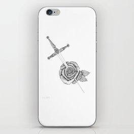 Rose Sword iPhone Skin