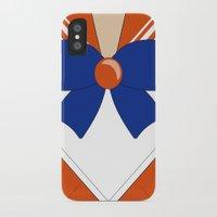 sailor venus iPhone & iPod Cases featuring Sailor Venus by kscullington | kristina anne
