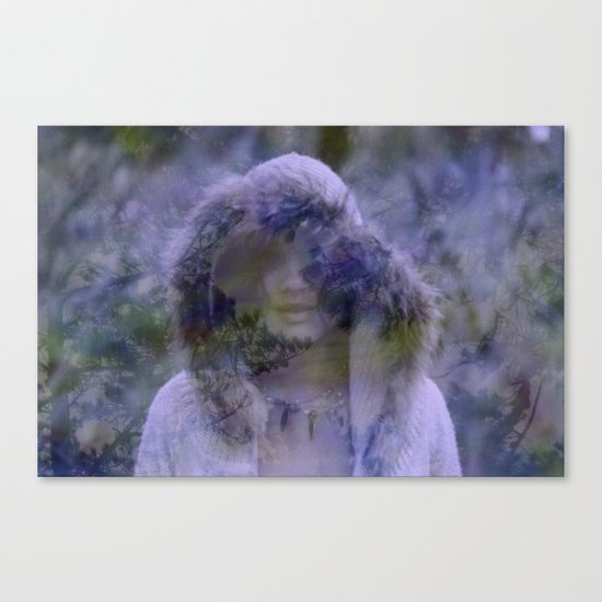 the tire of a wanderer Canvas Print