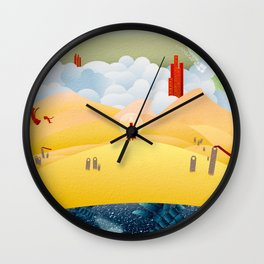 My Journey Wall Clock