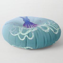 Deep Sea Octopus Floor Pillow