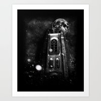 sin city Art Prints featuring Sin City by kidkyngstyle