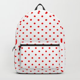 Dots (Red/White) Backpack