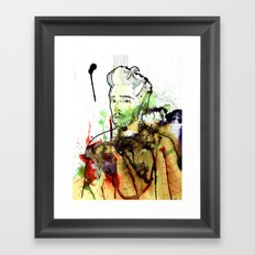 Life without freedom Framed Art Print