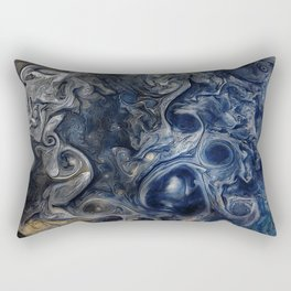Jupiter Blues Rectangular Pillow