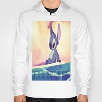 lilo and stitch Hoodies featuring Stitch by Chiaris