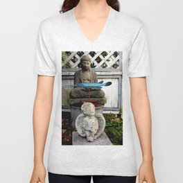 Use Fish Fertilizer For Heavenly Results Unisex V-Neck