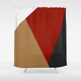 Abstract modern print 3 Shower Curtain