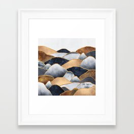 Hills 2 Framed Art Print
