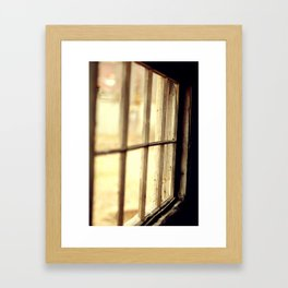 The Lighter side Framed Art Print