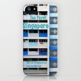 FRONT- Singapore HDB Flat iPhone Case