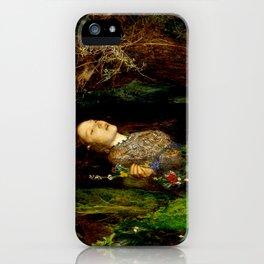 "John Everett Millais ""Ophelia"" iPhone Case"