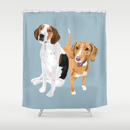 Boone and Summer Shower Curtain
