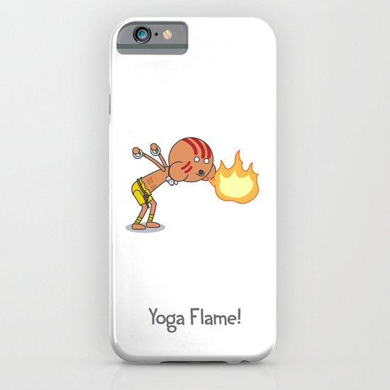 Yoga Flame! iPhone & iPod Case