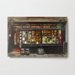 Ye Old Shambles Tavern Metal Print