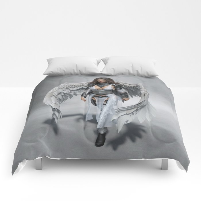 Angelic Warrior Comforters