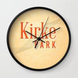 Kirke Park Wall Clock