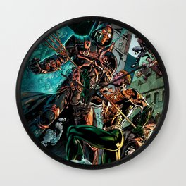 king of the seas Wall Clock