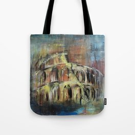 Abstract Rome Tote Bag