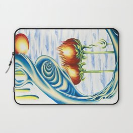 Poppie Flowers Laptop Sleeve