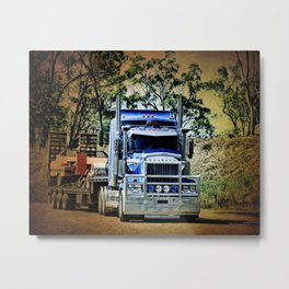 Heavy Duty Hauling Metal Print