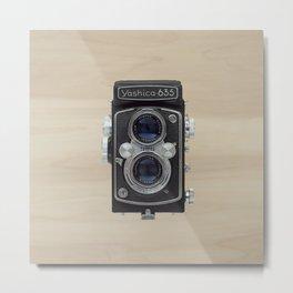yashica 635 - vintage camera  Metal Print