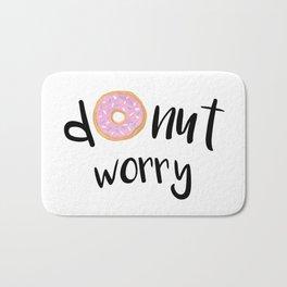 Donut Worry Bath Mat