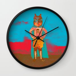Agitator Wall Clock
