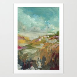 Marshlands Art Print